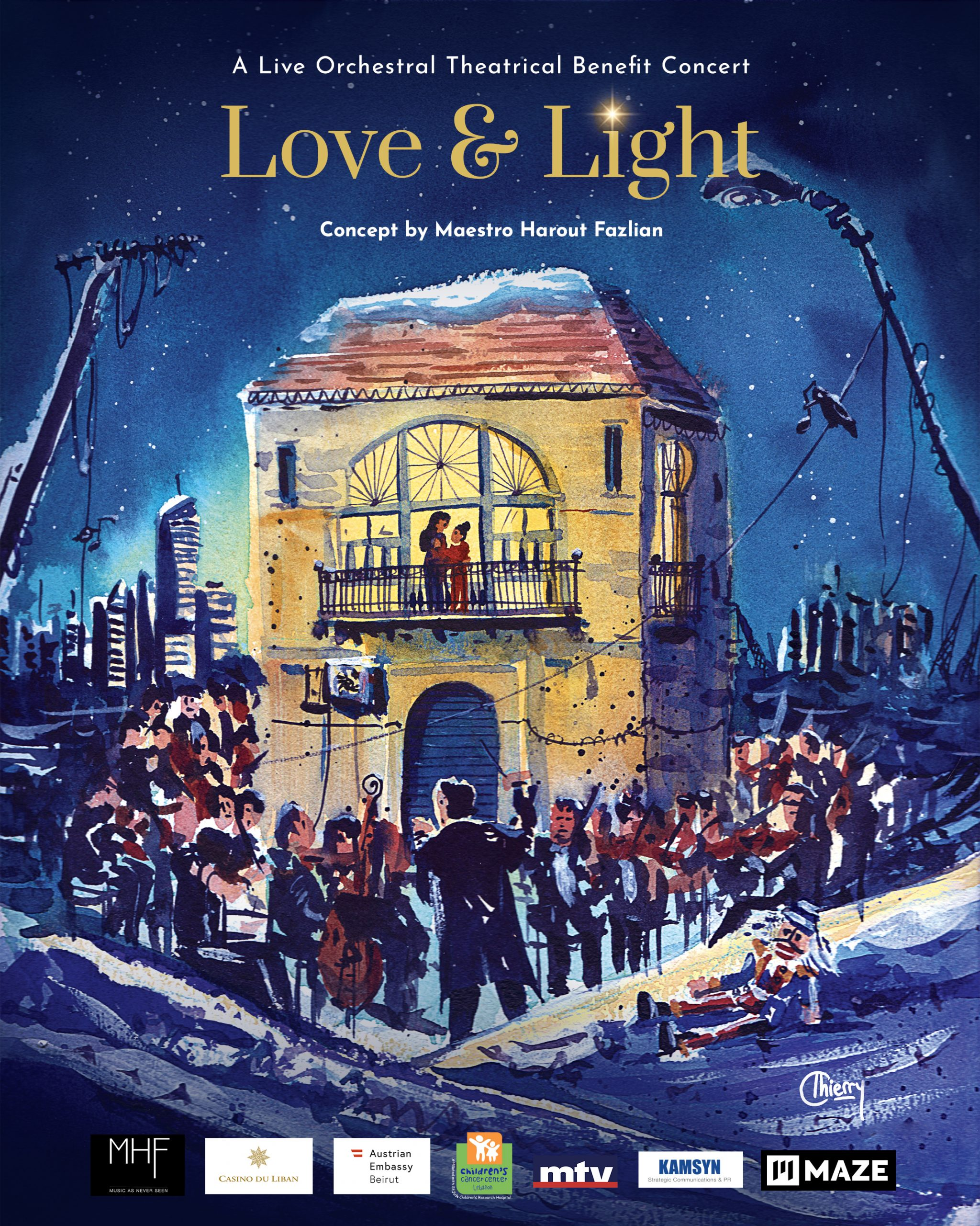 Love & Light – A Live Orchestral Theatrical Benefit Concert – Christmas 2020